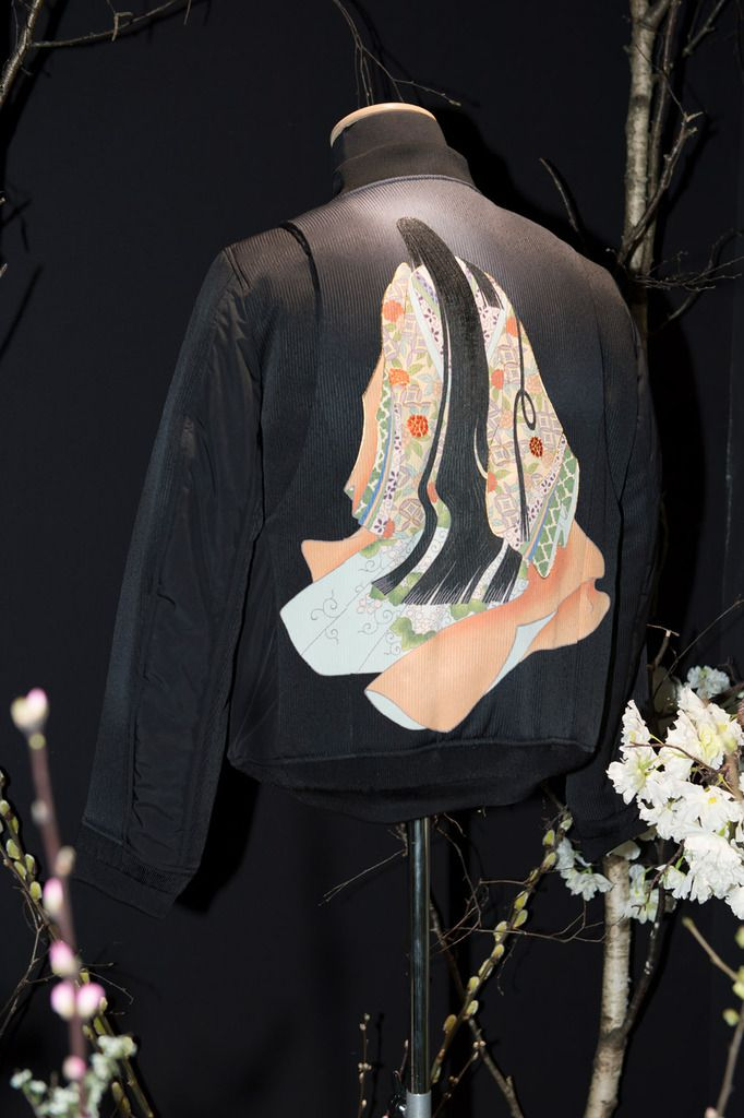 REVEAL PROJECT FALL WINTER 2018-19  KYO YUZEN COLLECTION AT PFW