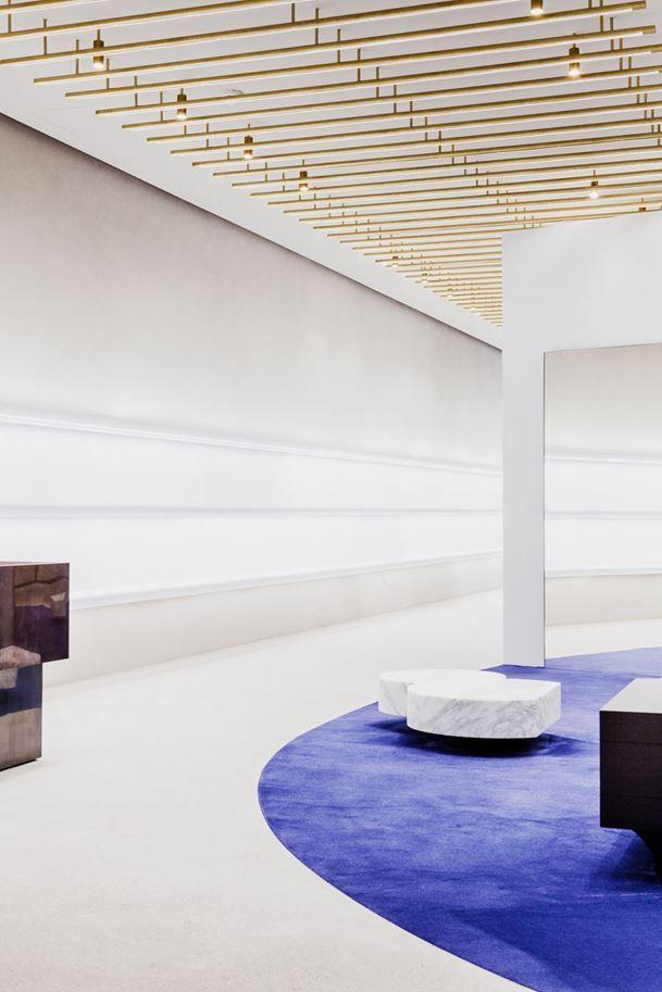 JIL SANDER NEW STORE IN BERLIN BY ANDREA TROGNON ARCHITECT
