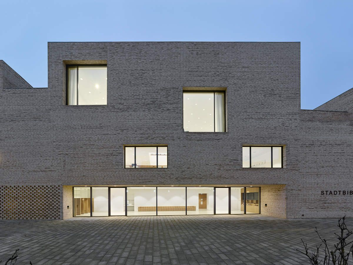 DISCOVER MAX DUDLER'S MOST RECENT LIBRARY BUILDING IN HEIDENHEIM