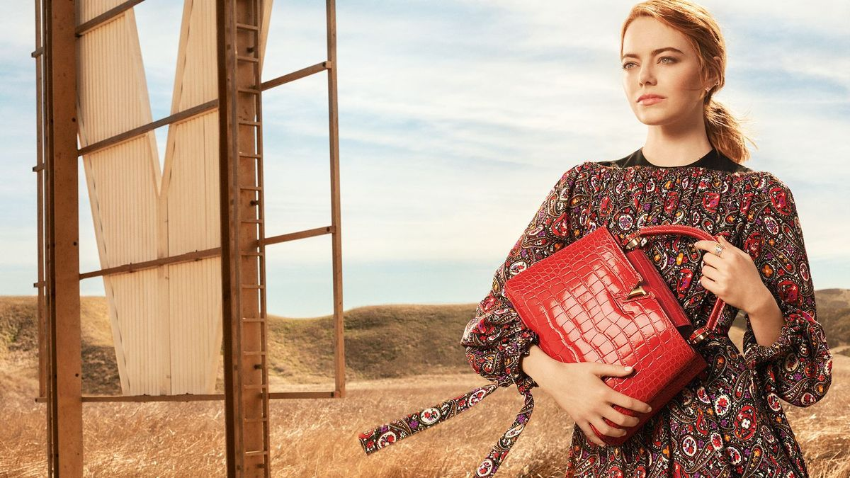 LOUIS VUITTON, SPIRIT OF TRAVEL 2018 AD CAMPAIGN WITH EMMA STONE