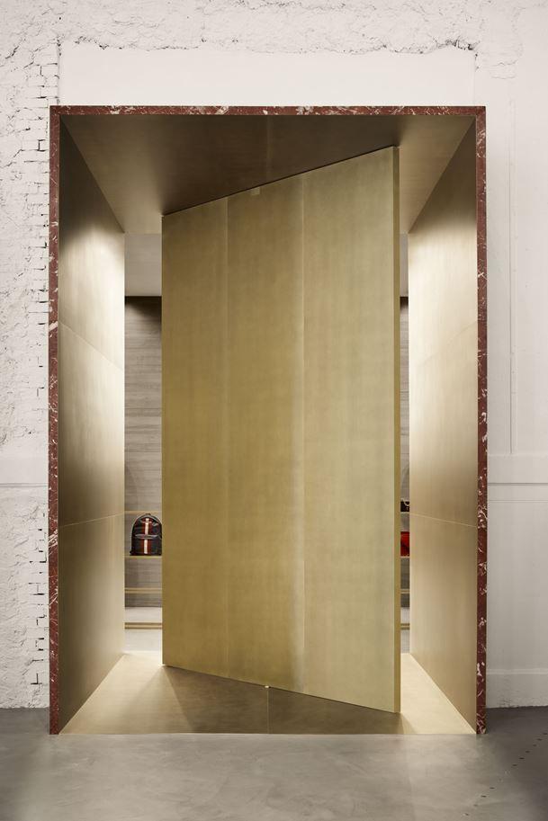 BALLY MILAN SHOWROOM BY STORAGEMILANO ARCHITECTURE, PHOTO ALBERTO STRADA