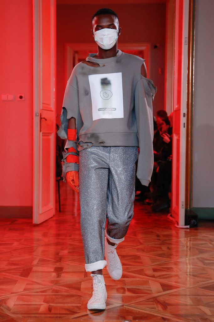 LUKAS KRNAC FALL WINTER 2018 19 / MERCEDES BENZ PRAGUE FASHION WEEK