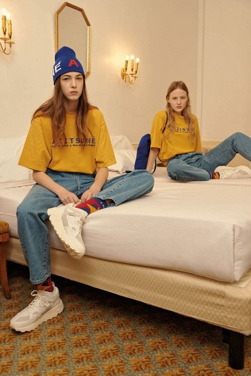 MAISON KITSUNÉ AND SOUTH KOREAN LABEL ADER ERROR CAPSULE COLLECTION TO DISCOVER !