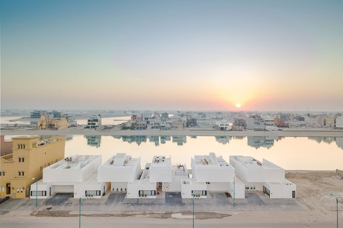 AREIA RESIDENCES DESIGNED BY AAP IN SABAH AL AHMAD SEA CITY MARINA, AL KHIRAN - KUWAIT