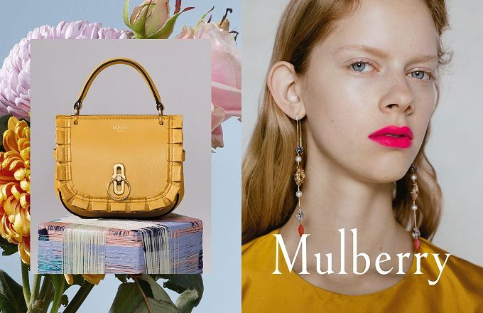 MULBERRY SPRING 2018 AD CAMPAIGN WITH ADELE TASKA, FREYA LAWRENCE, LUCAN GILLESPIE
