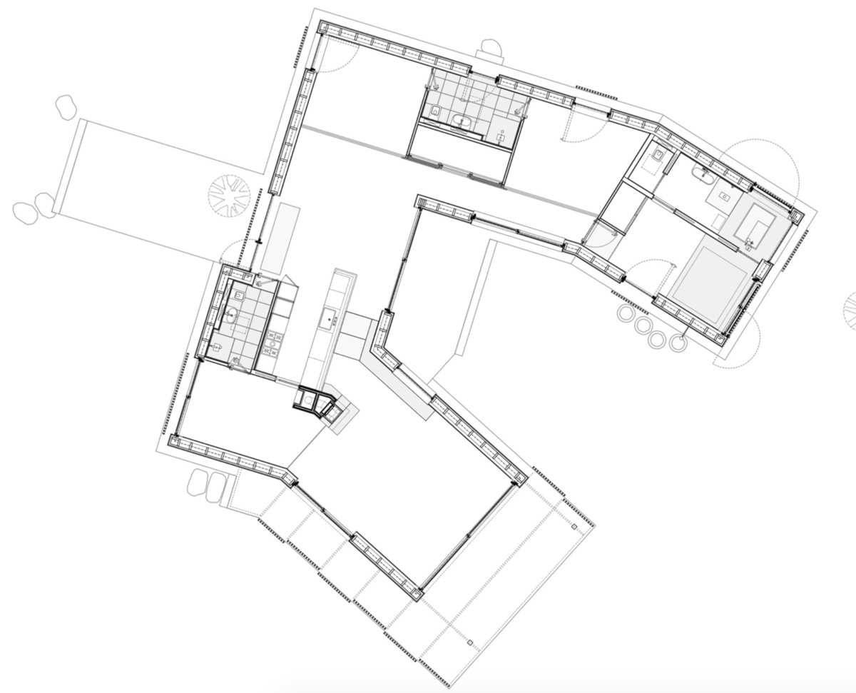 REWERS RAHBEK HOUSE IN FALSTER, DANEMARK BY DIENER & DIENER ARCHITECTS