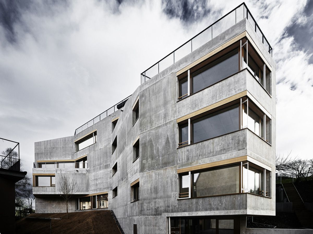 WAFFENPLATZ HOUSING IN ZURICH BY AFGH ARCHITECTS (ANDREAS FUHRIMANN	GABRIELLE HÄCHLER)