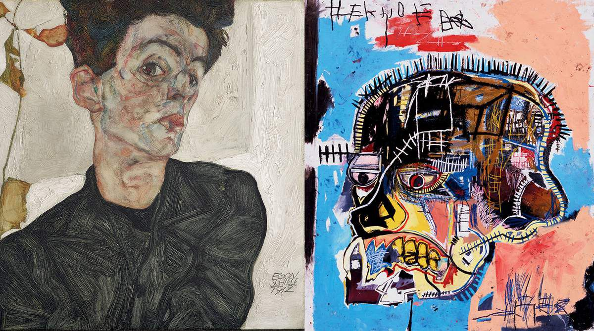 EXHIBITION: EGON SCHIELE AND JEAN MICHEL BASQUIAT AT FONDATION LOUIS VUITTON IN PARIS, FROM 03 OCT 2018 TO 14 JAN 2019