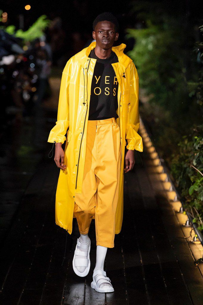 Pyer Moss spring/summer 2019 collection designed by Kerby Jean-Raymond