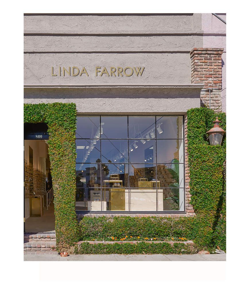 NEWLY OPENED ! LINDA FARROW THIRD US FLAGSHIP STORE,  IN MELROSE PLACE LOS ANGELES