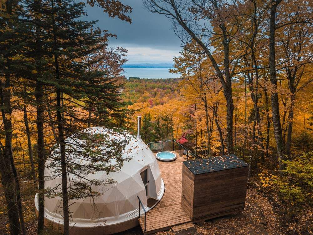 DISCOVER 'DÔMES CHARLEVOIX',  A NEW CONCEPT OF FOUR SEASONS ECO LUXURIOUS ACCOMMODATIONS LOCATED NEAR QUEBEC CITY