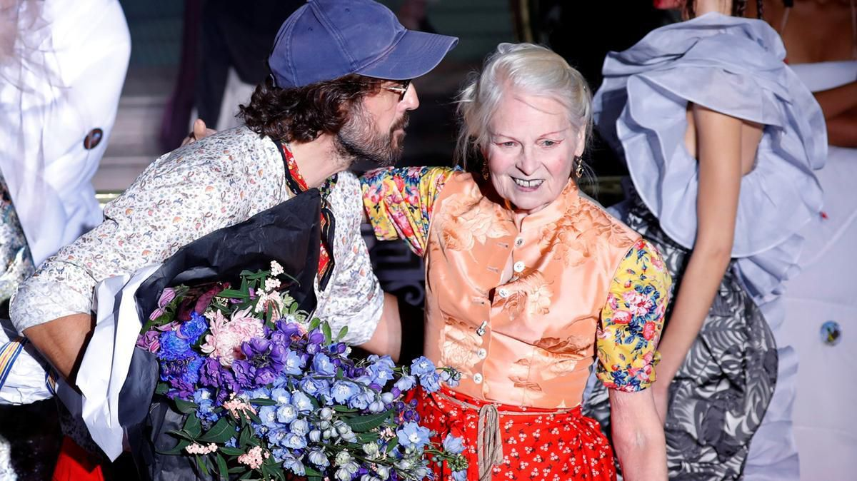 DAME VIVIENNE WESTWOOD TO BE HONOURED WITH THE SWAROVSKI AWARD FOR POSITIVE CHANGE BY THE BRITISH FASHION COUNCIL
