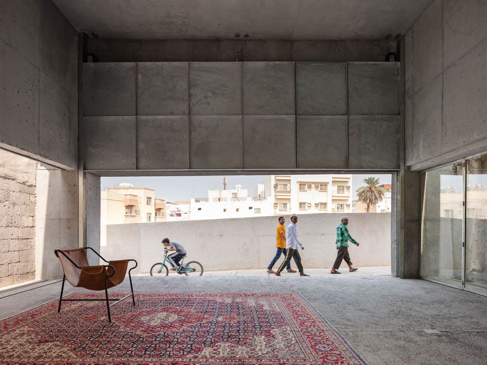 'HOUSE FOR ARCHITECTURAL HERITAGE' IN BAHRAIN BY NOURA AL SAYEH & LEOPOLD BANCHINI ARCHITECTS