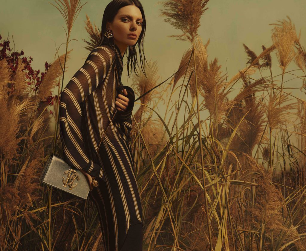 MERT ALAS WITH MARCUS PIGGOTT CAPTURED KENDALL JENNER FOR ROBERTO CAVALLI SPRING 2019 AD CAMPAIGN
