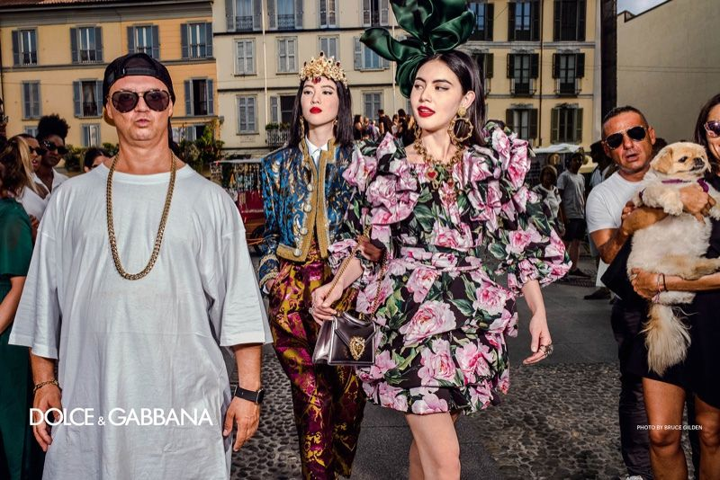 DOLCE GABBANA SPRING 2019 ADVERTISING CAMPAIGN CAPTURED BY BRUCE GILDEN, ALEX MAJOLI, ALESSANDRO AND LUCA MORELLI, BRANISLAV SIMONCIK, FRANCO PAGETTI, ANGELO PENNETTA, AND GIUSEPPE TORNATORE