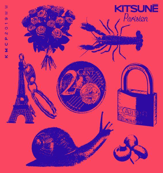 KITSUNÉ PARISIEN ! NEW 14 TRACK COMPILATION VIA KITSUNÉ MUSIQUE TO DISCOVER
