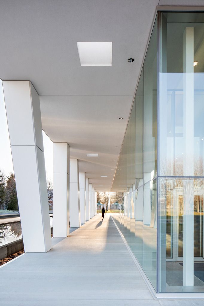 DIANE DUFRESNE ART CENTRE BY ACDF ARCHITECTURE IN CANADA