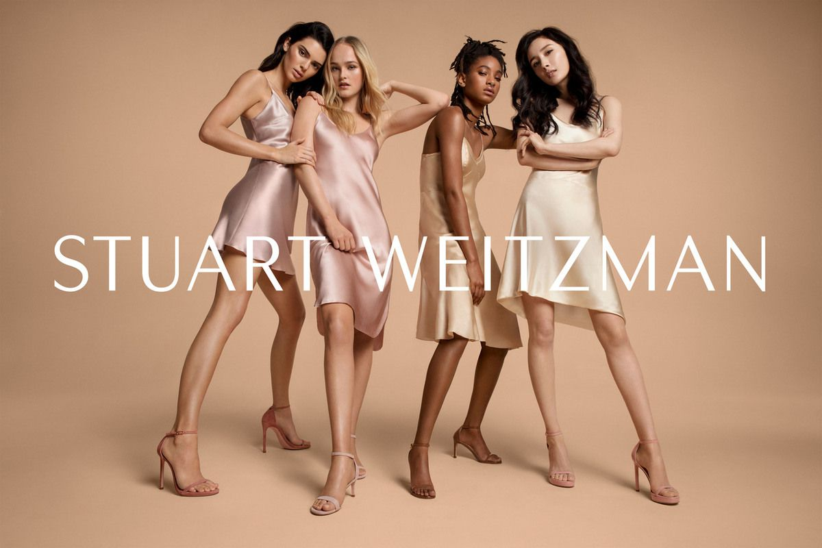 STUART WEITZMAN SPRING 2019 AD CAMPAIGN WITH KENDALL JENNER, YANG MI, WILLOW SMITH AND JEAN CAMPBELL