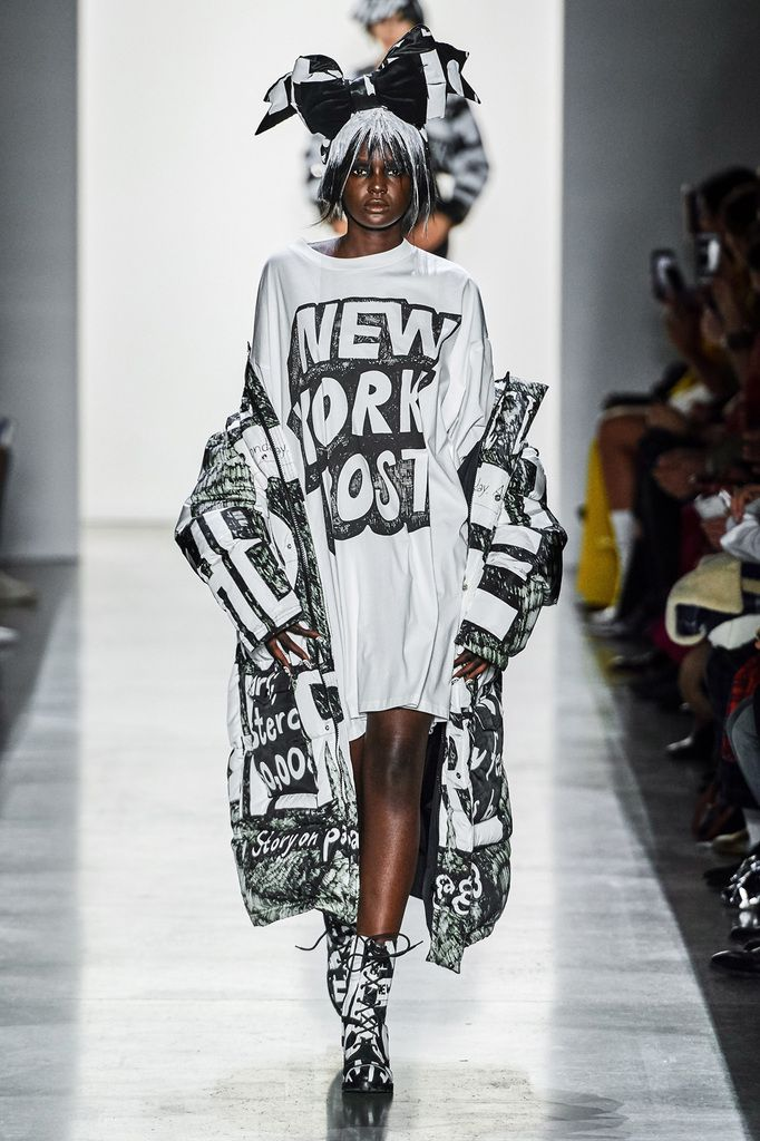 JEREMY SCOTT FALL/WINTER 2019 RTW COLLECTION AT NYFW