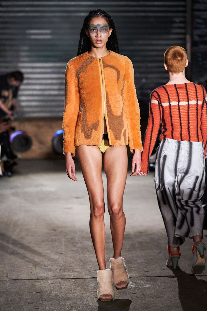 ECKHAUS LATTA FALL/WINTER 2019 WOMENSWEAR COLLECTION AT NYFW