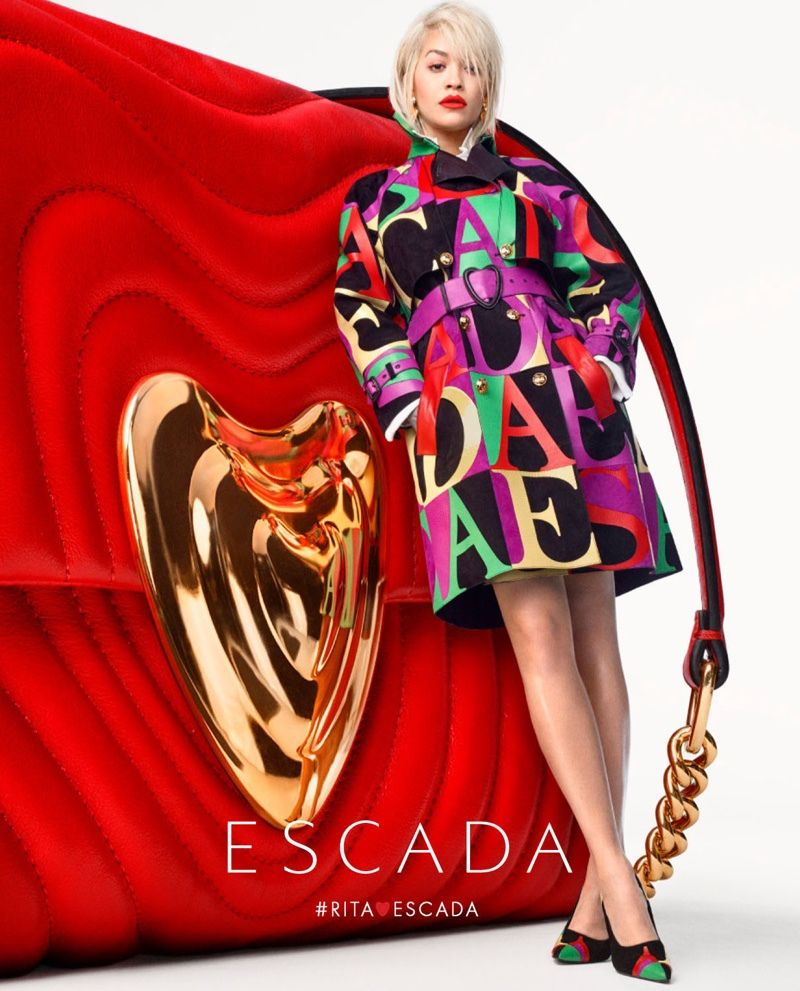 ESCADA SPRING/SUMMER 2019 AD CAMPAIGN WITH RITA ORA