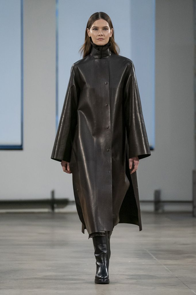 THE ROW FALL/WINTER 2019 READY TO WEAR COLLECTION AT NYFW