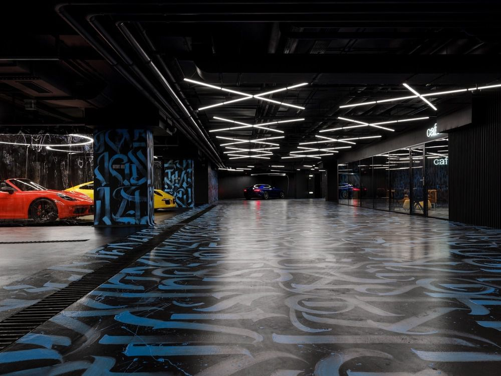 BLACK STAR CAR WASH PROJECT BY GRETAPROJECT IN MOSCOW, RUSSIA