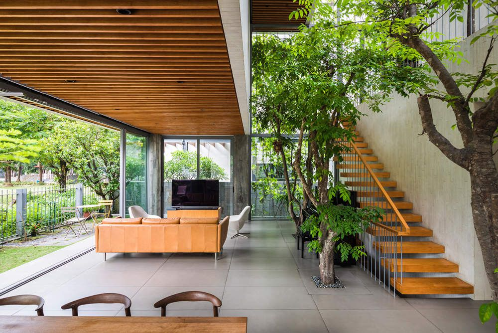 VTN ARCHITECTS (VO TRONG NGHIA) DESIGNED A NEW GREEN HOUSE IN VIETNAM
