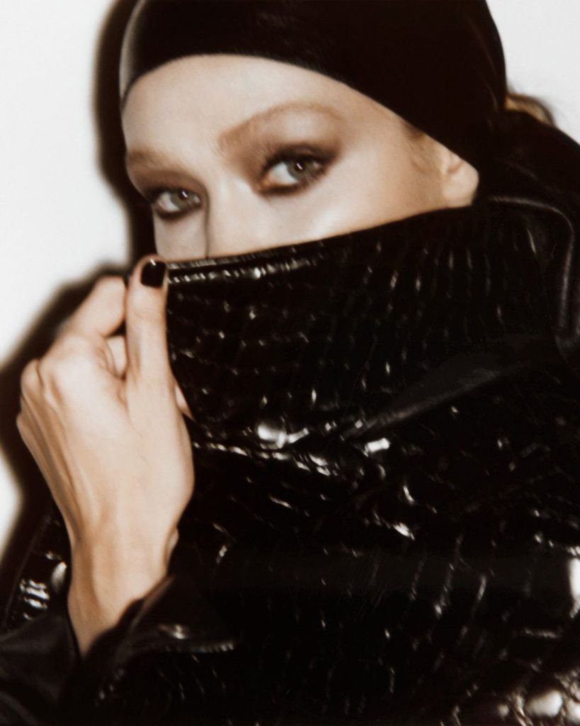 TOM FORD SPRING 2019 AD CAMPAIGN STARRING JOAN SMALLS AND GIGI HADID