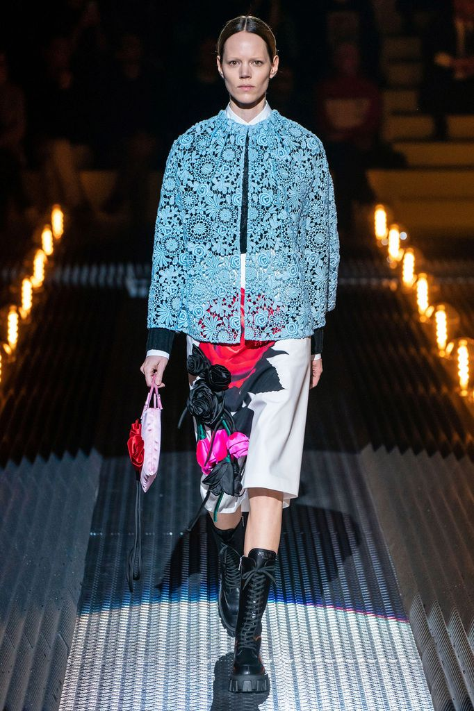 PRADA FALL WINTER 2019/20 RTW COLLECTION AT MFW