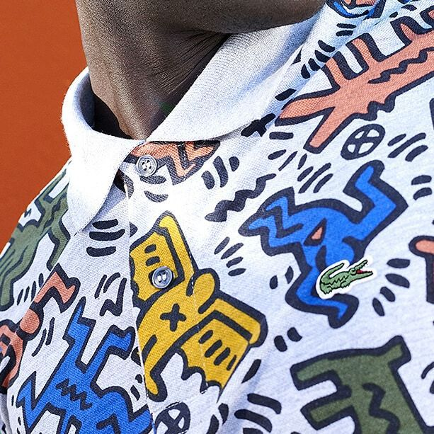 KEITH HARING x LACOSTE CAPSULE COLLECTION TO DISCOVER