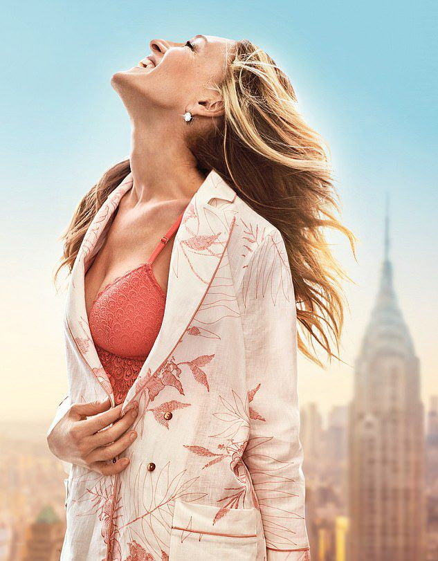 SARAH JESSICA PARKER, THE FACE OF INTIMISSIMI SPRING 2019 AD CAMPAIGN