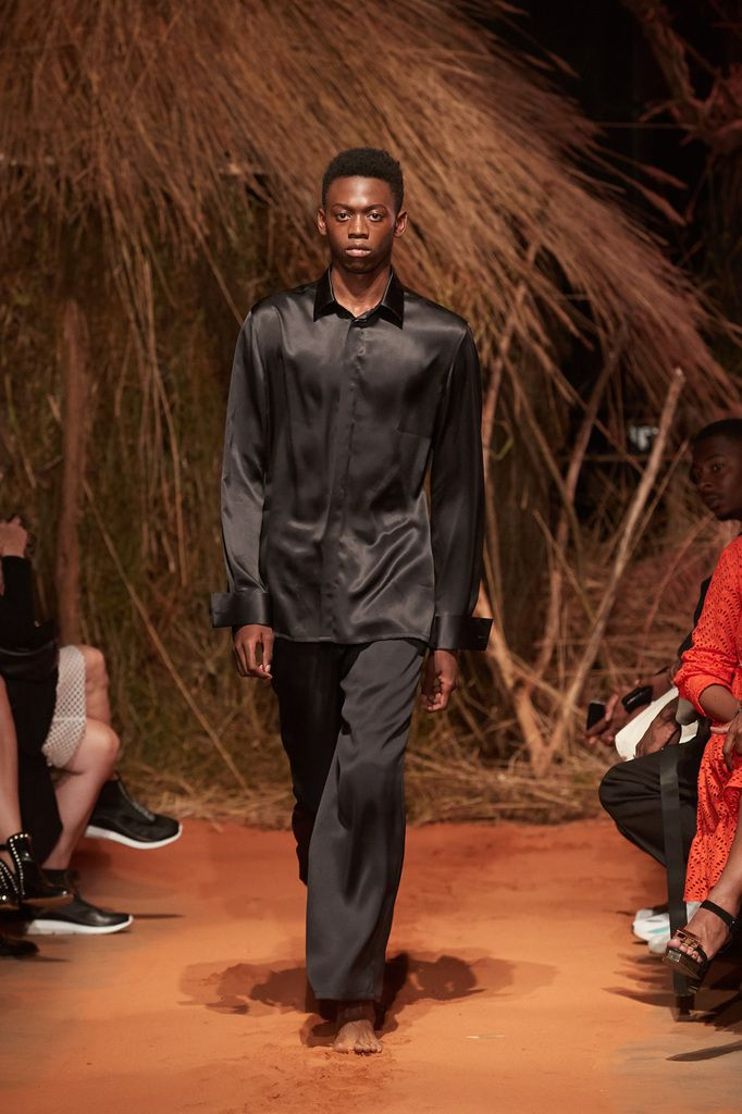 FRENCH DEAL SPRING SUMMER 2020 COLLECTION BY STEEVEN KODJIA DURING PFW