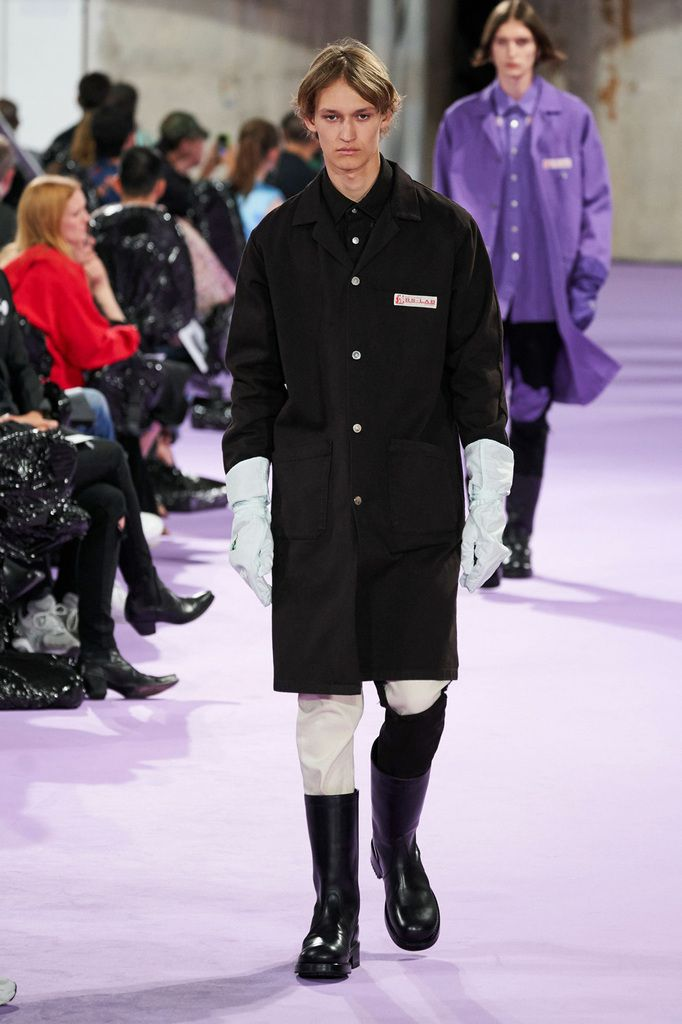 RAF SIMONS SPRING SUMMER 2020 MENSWEAR COLLECTION AT PFW