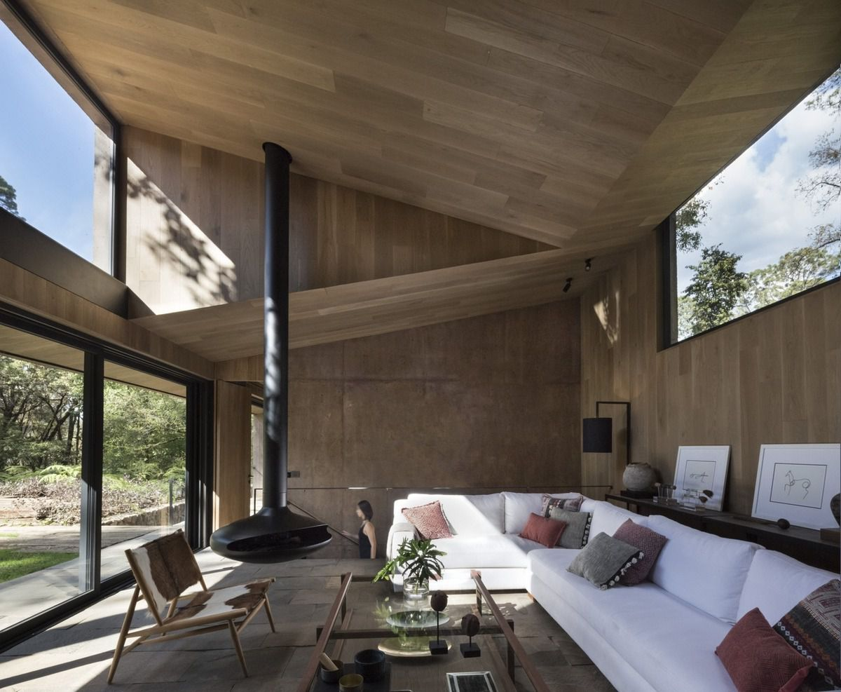 DELLEKAMP SCHLEICH ARCHITECTS DESIGNED THE L HOUSE IN VALLE DE BRAVO, MEXICO