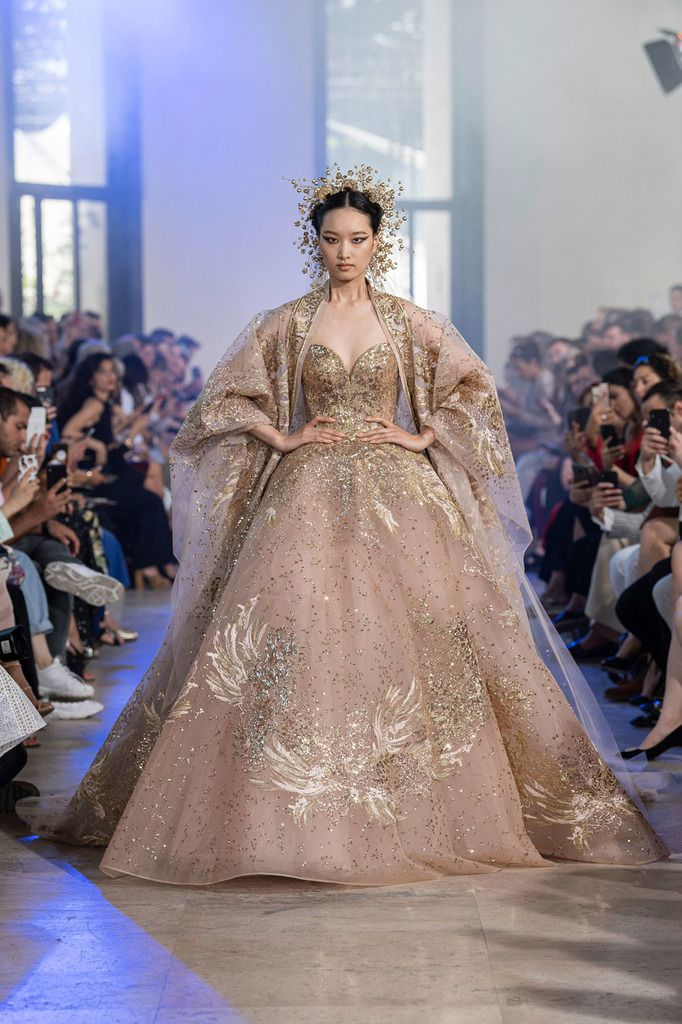 ELIE SAAB FALL 2019 COUTURE COLLECTION, PFW