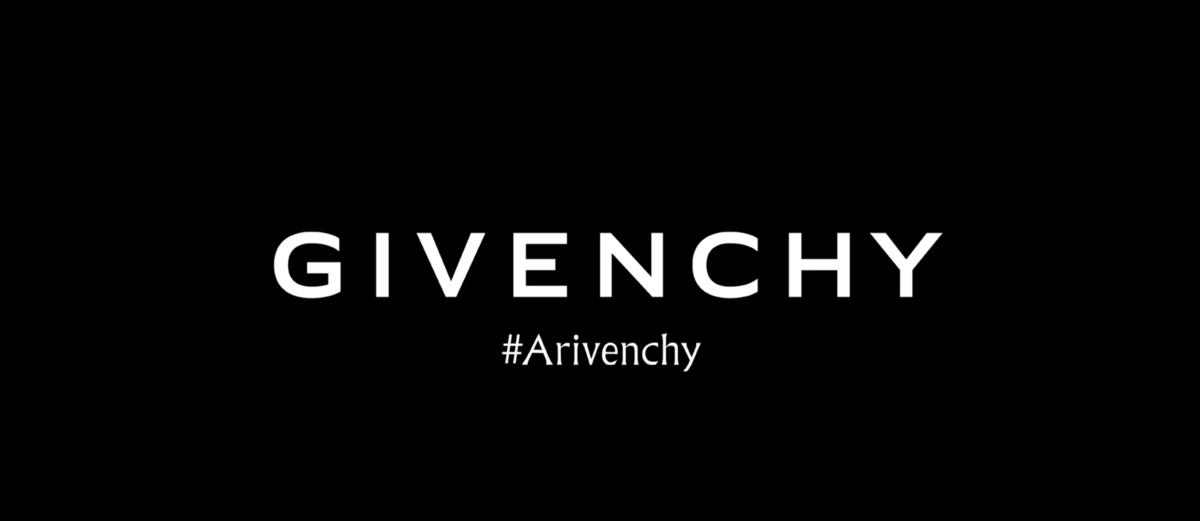 ARIANA GRANDE ON GIVENCHY FALL 2019 AD CAMPAIGN #ARIVENCHY