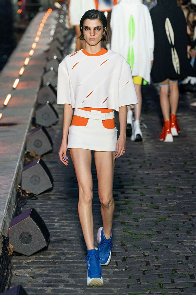 COURRÈGES SPRING/SUMMER 2020 RTW COLLECTION AT PARIS FASHION WEEK