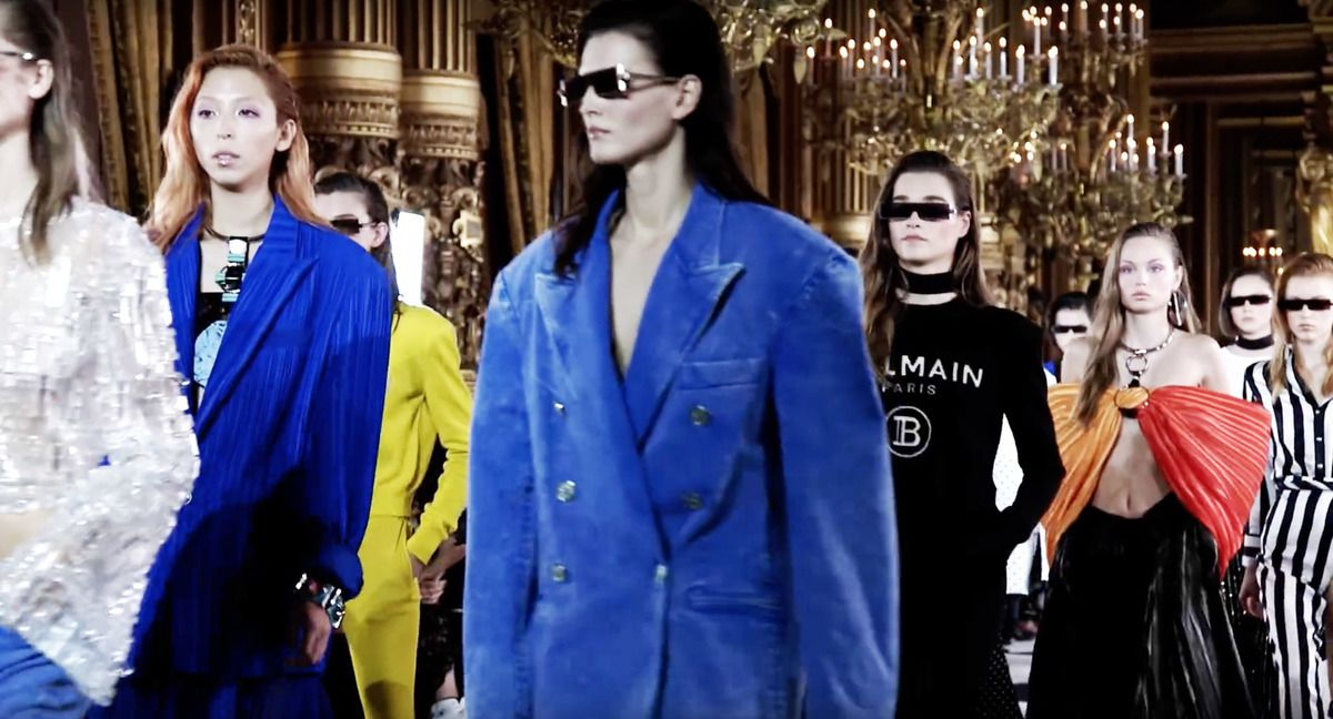 BALMAIN SPRING/SUMMER 2020 RTW COLLECTION FILM