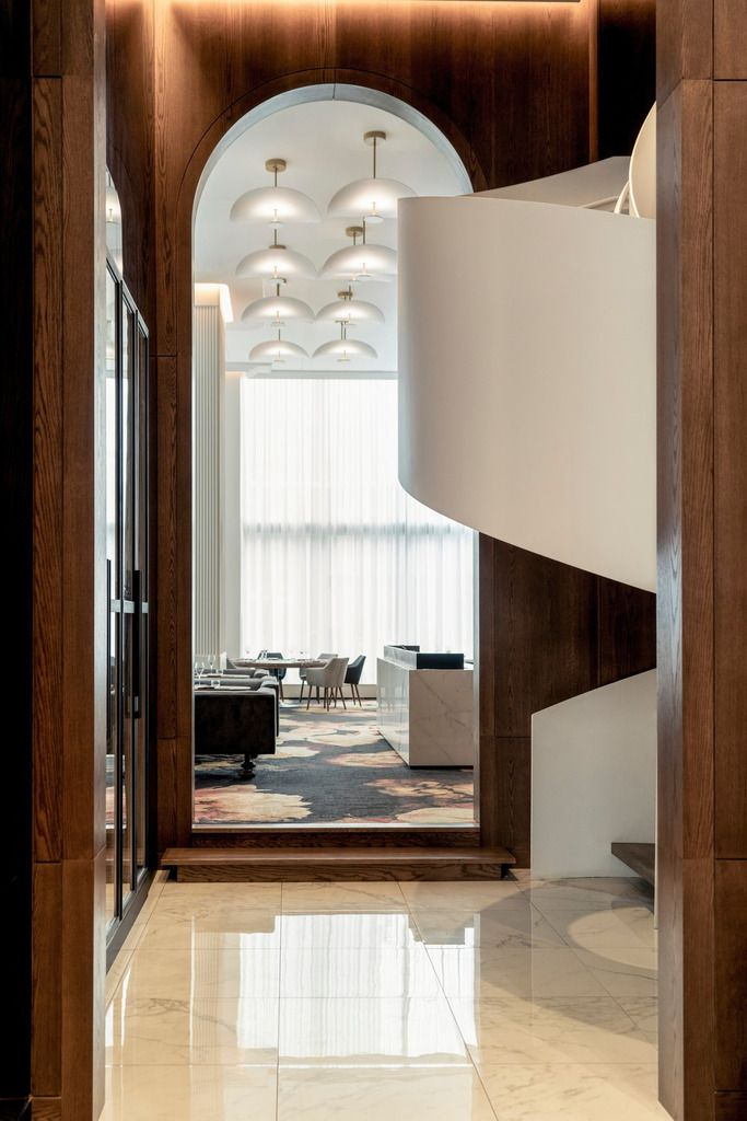 PROVENCHER ROY DESIGNED THE NEW QUARTERS OF JÉRÔME FERRER'S EUROPEA RESTAURANT, AND WINS THE AWARD FOR THE MOST BEAUTIFUL RESTAURANT IN AMERICA.
