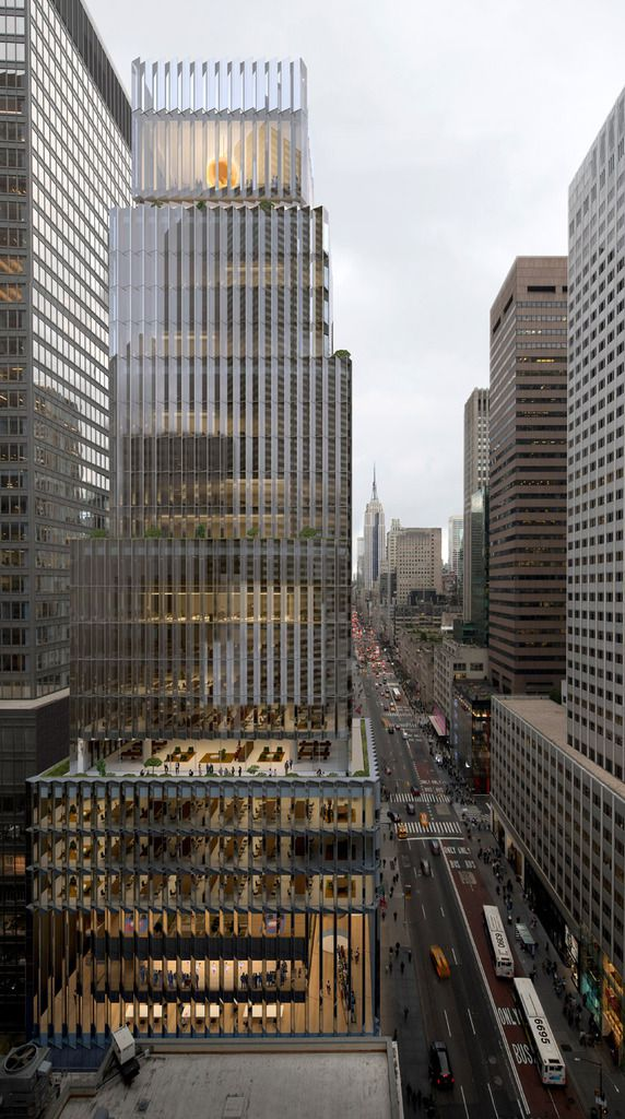 DAVID CHIPPERFIELD ARCHITECTS HAS BEEN SELECTED TO BUILD THE ROLEX USA HEADQUARTERS IN NEW YORK
