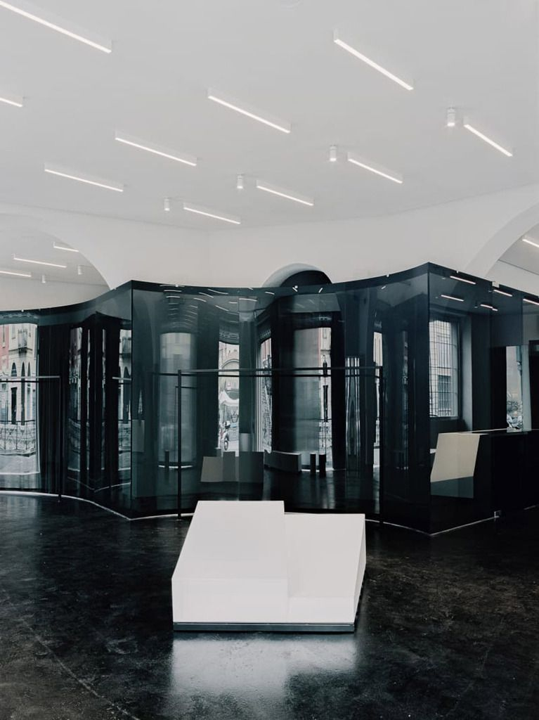ANTONIOLI MILAN FASHION STORE BY CASPER MUELLER KNEER ARCHITECTS