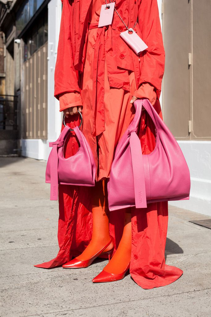 THINK BIG WITH, WORN SPRING/SUMMER 2020 PINKISANEWRED COLLECTION