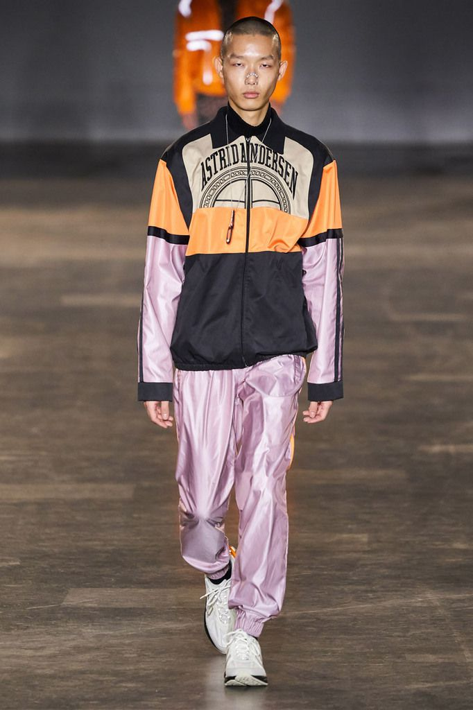 ASTRID ANDERSEN FALL 2020 MENSWEAR COLLECTION AT LFW