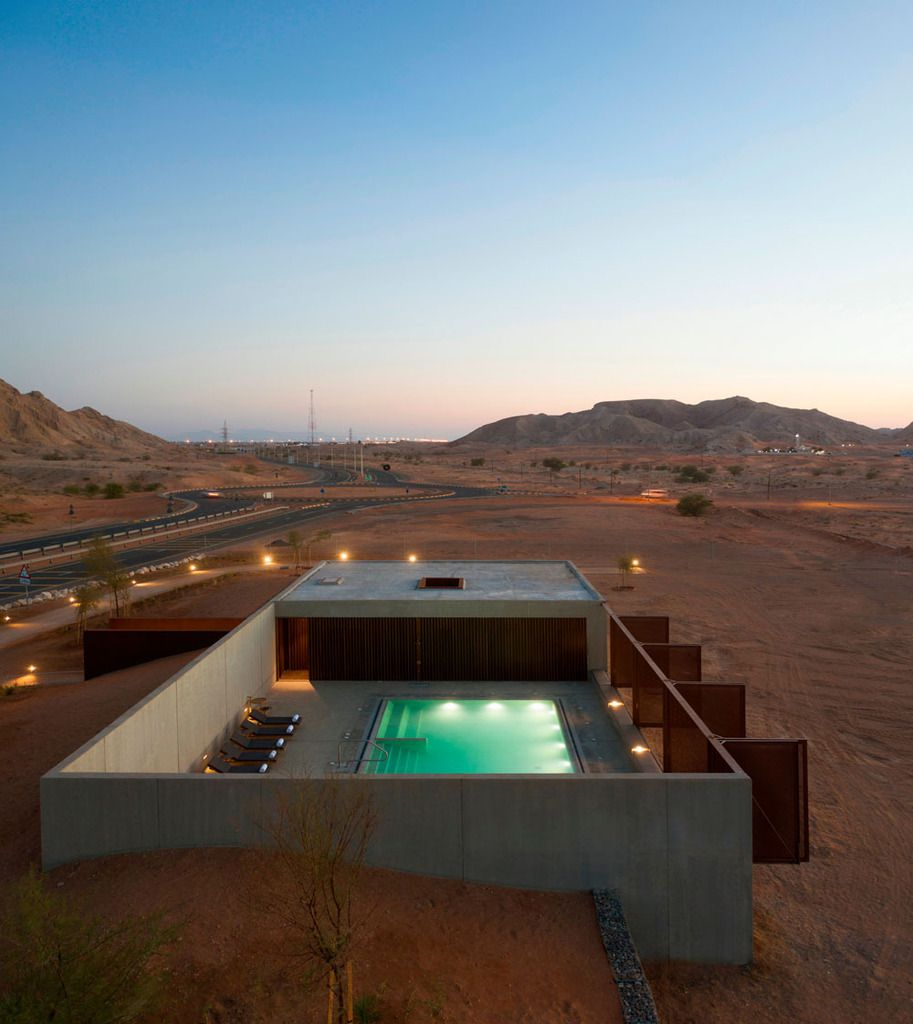 AL FAYA LODGE COMPLEXE IN THE UAE BY ANARCHITECT