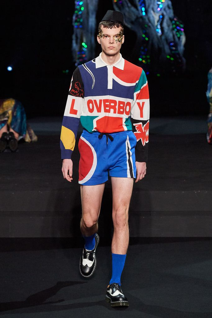 CHARLES JEFFREY LOVERBOY FALL 2020 MENSWEAR AT LFW