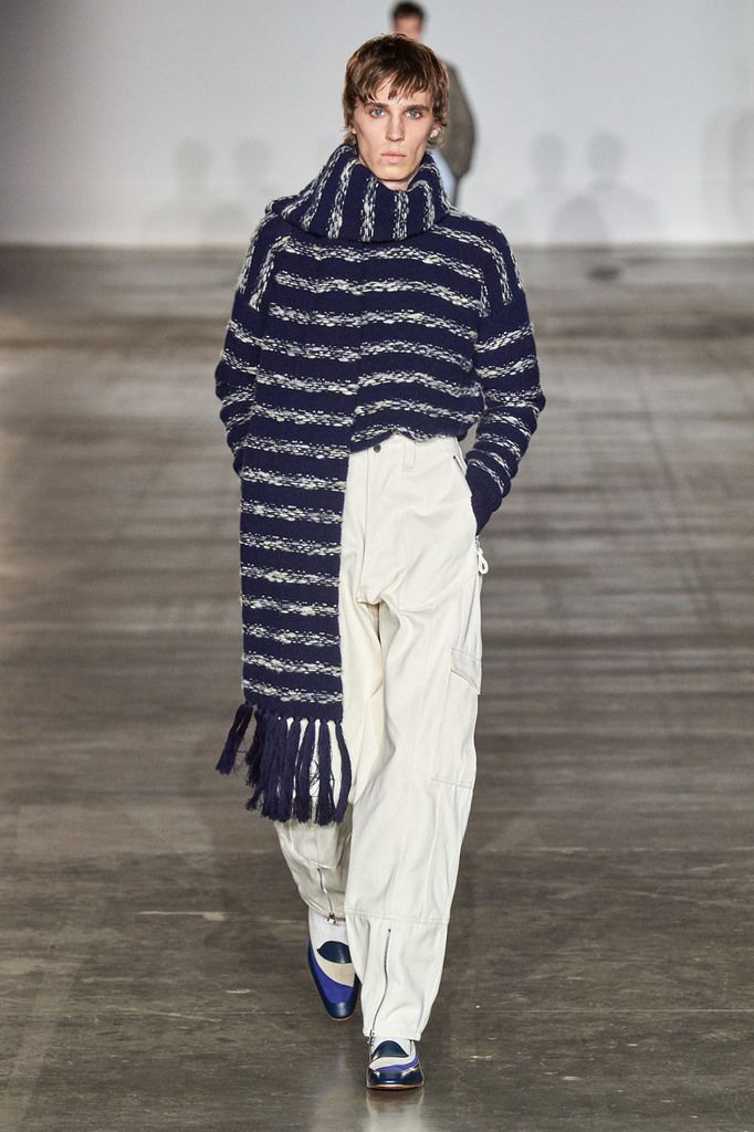 E. TAUTZ FALL 2020 MENSWEAR COLLECTION AT LFW