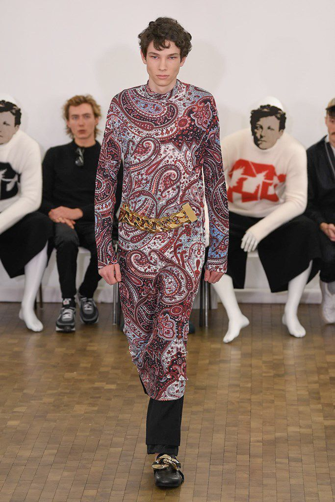 J W ANDERSON FALL 2020 MENSWEAR COLLECTION AT PFW