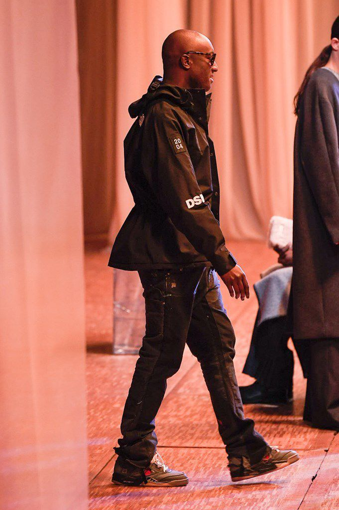 OFF WHITE FALL 2020 MENSWEAR COLLECTION AT PFW