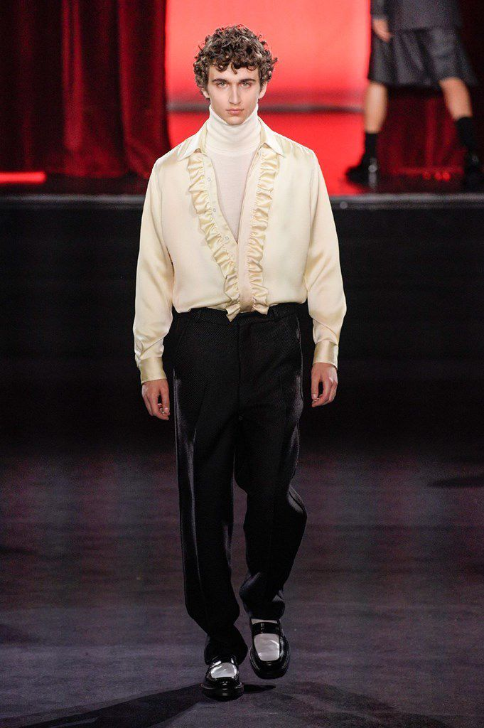 AMI ALEXANDRE MATTIUSSI FALL 2020 MENSWEAR COLLECTION AT PFW